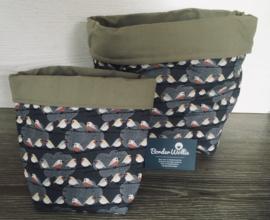 Cilinder bag birds S