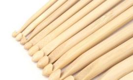 haakpen hout 8mm/15cm