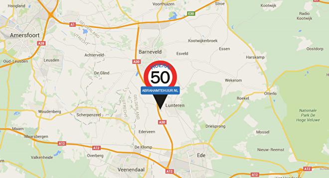Route en locatie google maps abrahamtehuur
