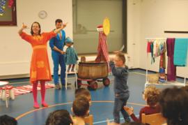 'Praten met je handen' theatervoorstelling