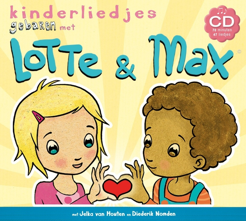 CD kinderliedjes met Lotte & Max