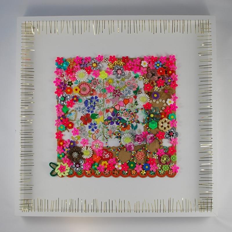 Collage bloemen