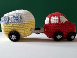 Caravan zonder auto