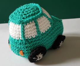 Autootje in de kleuren groen of blauw