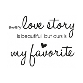 Stickers - Love story