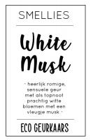 Ecogeurkaars - White musk