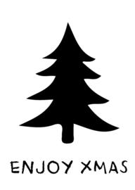 Stickers - Enjoy x-mas