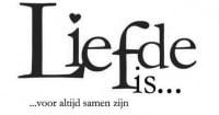 ♥ Sticker - Liefde is...