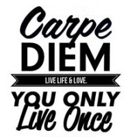 Sticker - Carpe Diem