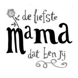 Stickers - Liefste Mama