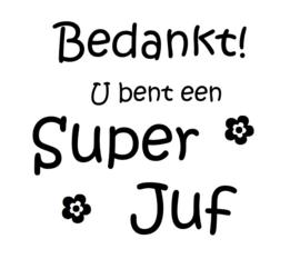 Stickers - Super Juf