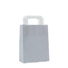 Kraft tasjes (10) - Grey