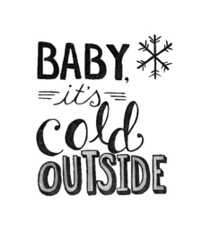 Stickers - Cold outside