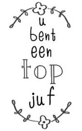Stickers - Tof juf
