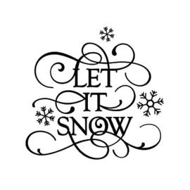 Stickers - Let it Snow
