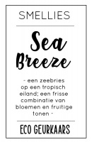 Ecogeurkaars - Sea Breeze