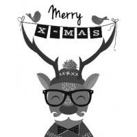 Stickers - Merry  x-mas
