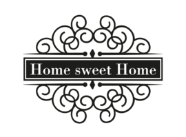 Stickers - Home sweet home