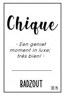 Badzout - Chique