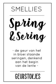 Geurstokjes - Spring & Sering