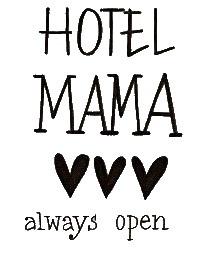 Stickers - Hotel mama