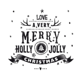 Stickers - Holly Jolly