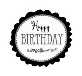 Stickers - Happy Birthday