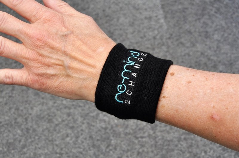 Wristband for the Re-mind