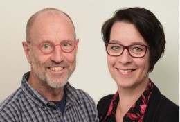 Berry Verlinden en Liset Maas