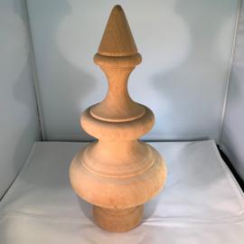 Houten fontein knop