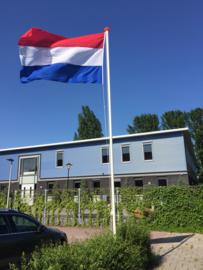 Aluminium cilindrische vlaggenmast 6 meter /60mm