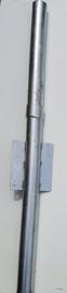 Overschuifkoker voor 60mm aluminium mast