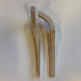 Gestoomde gaffelklauwen per paar