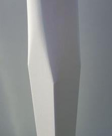 Houten vlaggenmast 9 meter conisch voet 100-65mm.