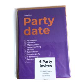 6 x PARTY DATES
