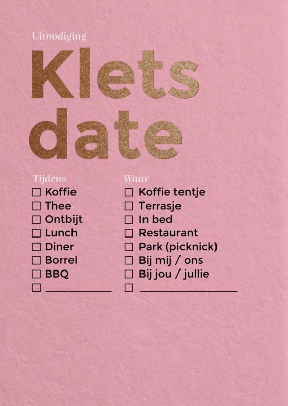 Klets date 1