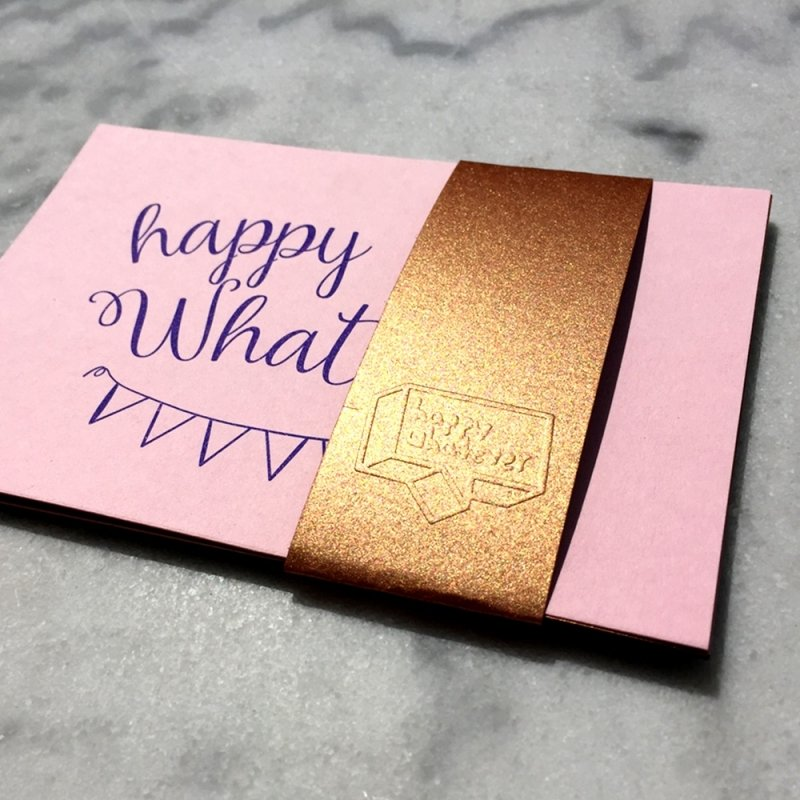 HAPPY GREETS CARD SET (5CARDS)