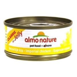 Almo Nature cat imperiale kip in gelei 70gr 24x
