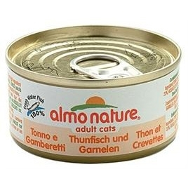 Almo Nature cat tonijn/garnalen 70gr