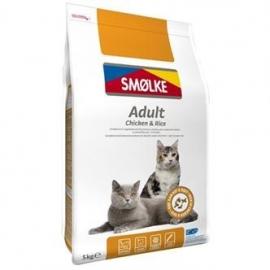 Smølke cat adult kip/rijst 5kg