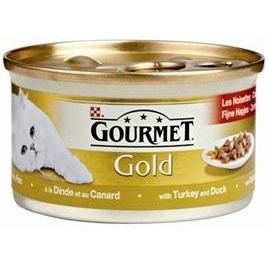 Gourmet Gold luxe mix eend/kalkoen 85gr 24x