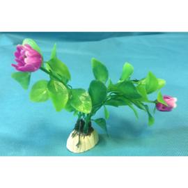 Kunststof sierplantje tulpen