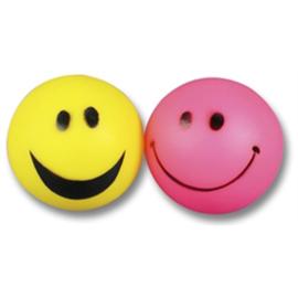 Vinyl smiley bal 6,5 cm