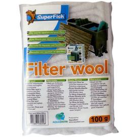 SuperFish Filterwatten 100 gram wit