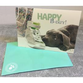 Studio Pets kaart Happy B-day!