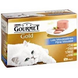 Gourmet Gold 12-pack fijne mousse 12x85gr