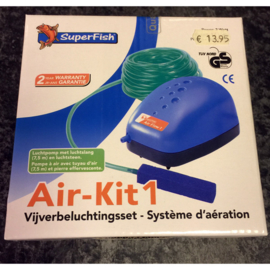 Superfish air-kit 1 vijverbeluchtingsset luchtpomp