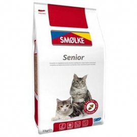 Smølke cat senior 2kg