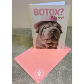 Studio Pets kaart Botox? Welnee!