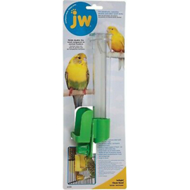 JW InSight Clean Seed – Silo Bird Feeder groen